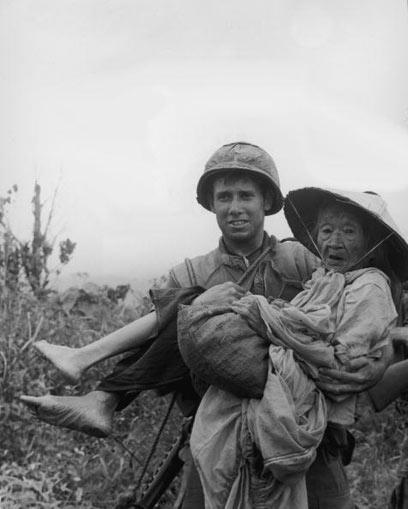 היסטוריה בינלאומית רוויית אלימות. חייל אמריקני בווייטנאם (צילום: gettyimages imagebank)