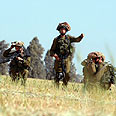 Soldiers near Gaza (Archive photo) Photo: AFP