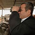 Barak on northern tour Photo: Ariel Hermoni