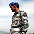 UNIFIL soldier in Lebanon Photo: AFP