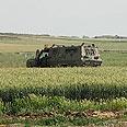 IDF patrol near border fence Photo: Zeev Trachtman