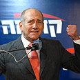 In for a fight. Olmert Photo: Yaron Brener