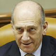 Olmert. No comment Photo: Flash 90