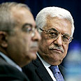 Abbas and Fayyad - Worried about Hamas Photo: AFP