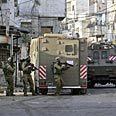 IDF troops in Nablus (Archive photo) Photo: AP
