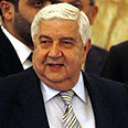 Syrian Foreign Minister Walid Muallem Photo: AFP