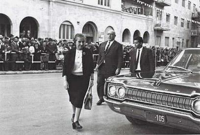 Golda Meir (Photo: Moshe Milner, GPO)