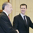 Assad with Erdogan Photo: Reuters