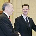 Assad with Erdogan Photo: Reuters