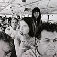 Entebbe hostages returning home Reproduction photo: Avigail Uzi