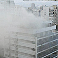 Scene of Beirut fighting Photo: Reuters