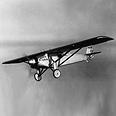"""""""רוחה של סיינט לואיס"""", המטוס שבו חצה צ'רלס לינדברג את האוקיינוס האטלנטי"""