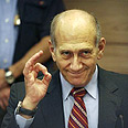 Olmert - No shame Photo: AFP