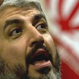 Hamas leader in exile Khaled Mashaal Photo: Reuters