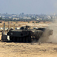 IDF troops in Gaza Photo: Tsafrir Abayov