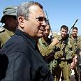 Barak against Hamas Photo: Ariel Hermoni