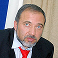 Avigdor Lieberman Photo: Ze'ev Trachtman