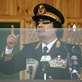 Gaddafi - Leader/ Psychologist Photo: AP