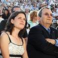Barak with Karnit Goldwasser Photo: Doron Golan