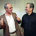 MK Ben-Simon (L) with Barak (Archives) Photo: Shaul Golan