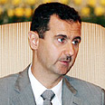 Assad likens peace process with Israel to how a doctor should treat cancer Photo: AFP