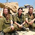 Female paramedics serving in Gaza Strip