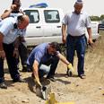 Qassam lands in western Negev (archive) Photo: Tsafrir Abayov
