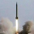 Shihab missile test Photo: Reuters