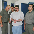 Kuntar upon his release Photo courtesy of Israel Prison Service