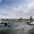 נמל קיסריה בעבר. באדיבות החברה לפיתוח קיסריה