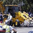 The bulldozer Photo: Dudi Vaaknin