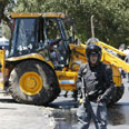 Scene of bulldozer attack (archives) Photo: Reuters