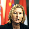 Livni - Winner takes all Photo: AFP