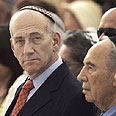 PM Olmert Photo: AP