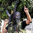 Hamas gunman in Gaza Photo: AP