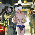 Palestinian who crossed border into Israel Photo: Reuters