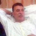 Ahmed Hilles at hospital Photo: Yonat Atlas