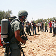 IDF to use odor weapons against settlers? Photo: Active Stills