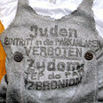 Anti-Semitic shirt sold in Paris Photo: AFP
