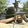 Islamic Jihad member during training Photo: AFP