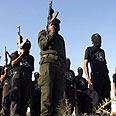 Gaza gunmen. Ready to negotiate? Photo: AFP