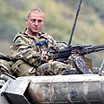 Russian troops on their way out? Photo: Reuters