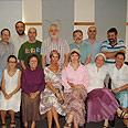 Delegation members in Israel Photo: David Salgado, Shavei Israel