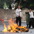 Haredi riots Photo: Gil Yohanan