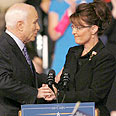 An insult to Israel  McCain and Palin Photo: Reuters