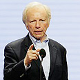 Senator Joe Lieberman Photo: AFP