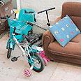 """אופניו המיותמים של מיכאל קרוצקוב ז""""ל צילום: מיכאל שטינדל"""