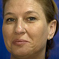 Livni. Good reason to smile Photo: AFP