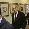 Famous last words? Olmert Photo: AFP