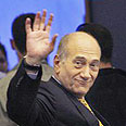 Olmert. Delayed grasp of reality Photo: AP